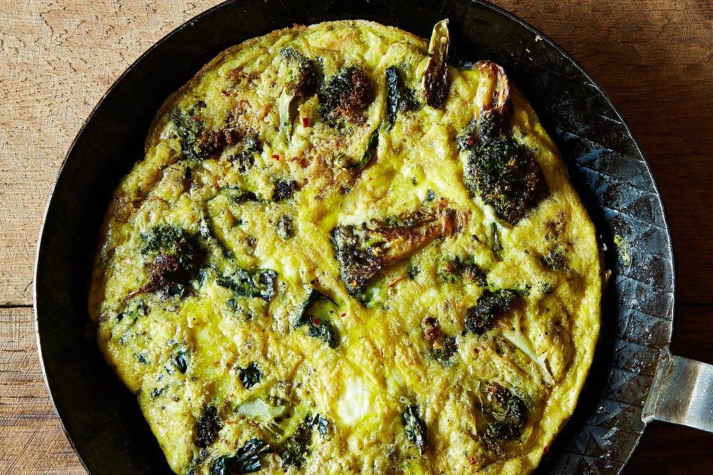 how to make a baked breakfast frittata