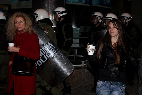 Marches to mark 17th November in Thessaloniki, Greece
