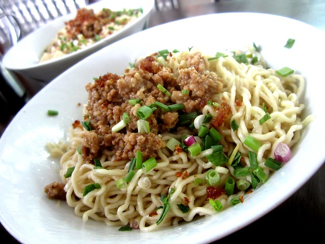 Full Fortune Cafe Kampua noodles