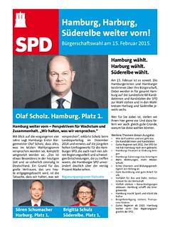 Wahlkampfzeitung der SPD Harburg
