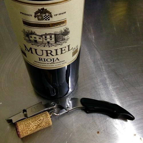 Muriel 2009, Rioja. Reserva. Spanish wine. Wine. Red wine.