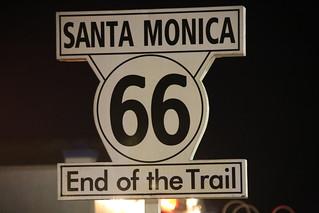 Santa Monica Pier.  LA, California.
