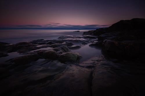 Rönnskärs udde, Roslagen, Sweden - After sunset