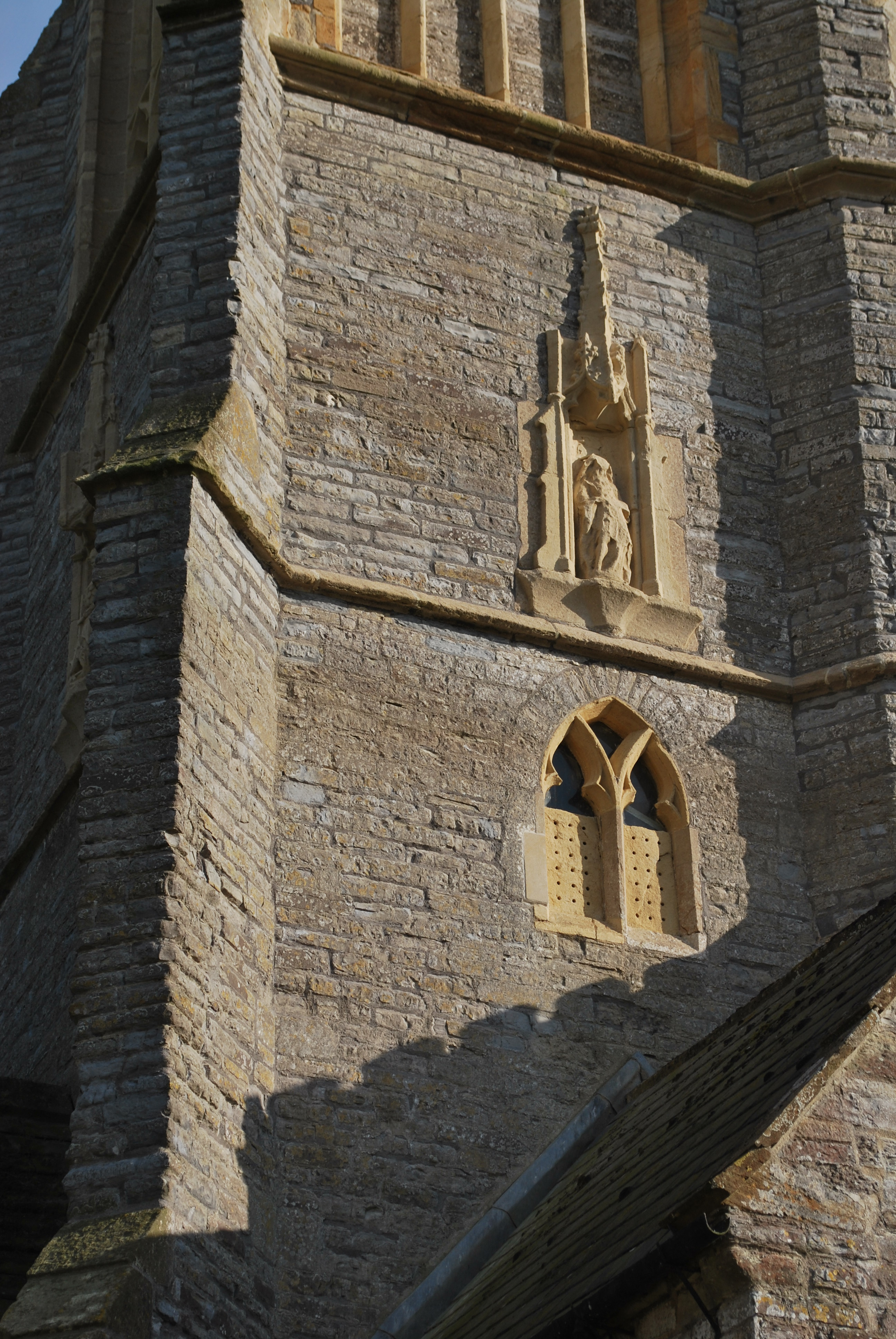 St Michael's Church, Othery, Somerset - North elevation