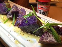 Purple Potato, YAKITORI-YA at Orsa & Winston