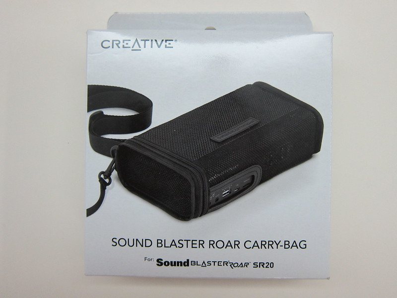 Creative Sound Blaster Roar Carry-bag - Packaging Front