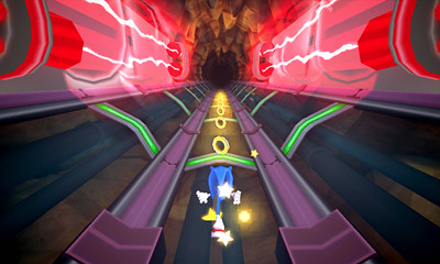 Sonic Boom: Shattered Crystal Launch Screens