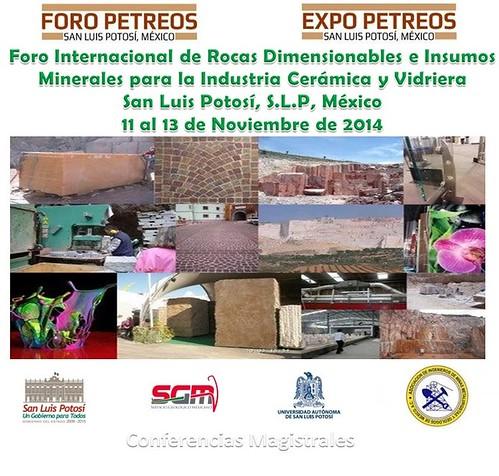 Foro Internacional de Rocas Dimensionables e Insumos Minerales para la Industria Cerámica y del Vidrio