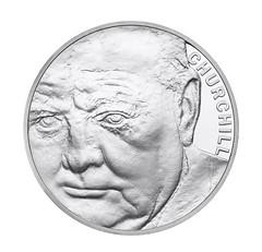 Winston Churchill £5 coin