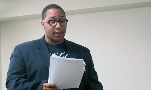 Poetry Master Class with Marcus Wicker