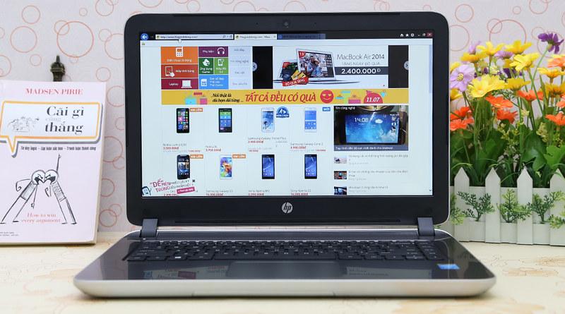 So sánh laptop Asus TP550LD và HP Pavilion 14 - 56619