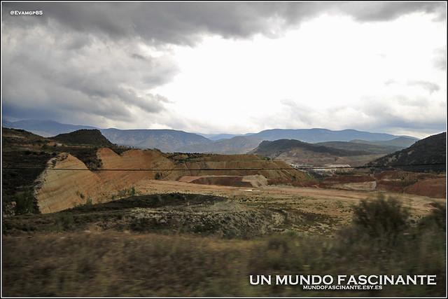 Paisajes de camino a Riodeva, Aragón3