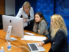 Assistant Secretary of State for Educational and Cultural Affairs Evan Ryan responds to your questions during a Reddit Ask Me Anything (AMA), at the U.S. Department of State in Washington, D.C., on November 21, 2014. You can view the Reddit AMA here: redd.it/2mzwjo. [State Department photo/ Public Domain]
