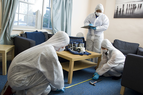 Forensic Science students at UWE benefit from a specially modified ?house? that can be adapted to mimic the conditions typically found at a variety of crime scenes.
