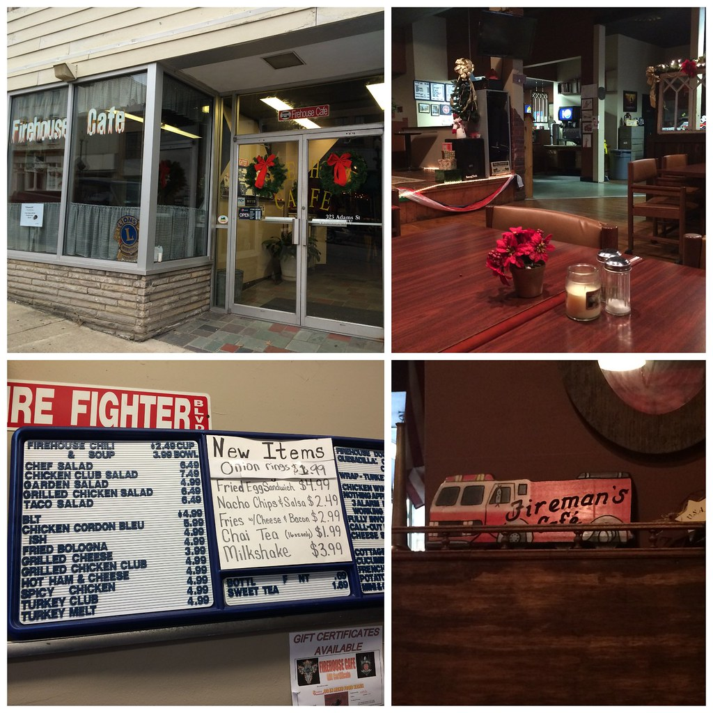 Firehouse Cafe Collage