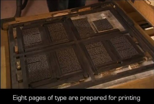 Pages of type
