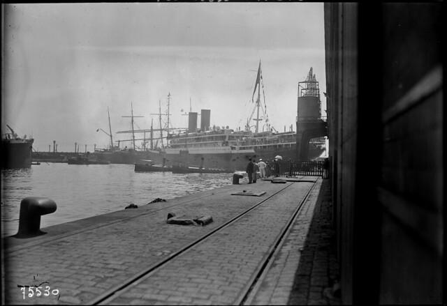Marseille, 21/6/1922, arrivée de l'empereur d'Annam