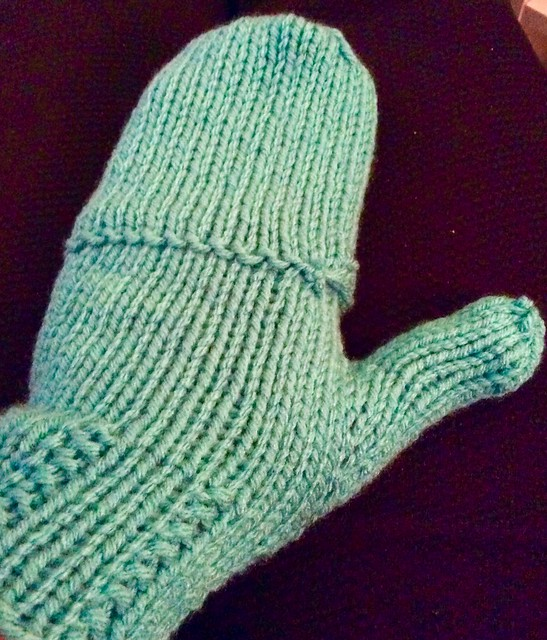 Frances fingerless mitts
