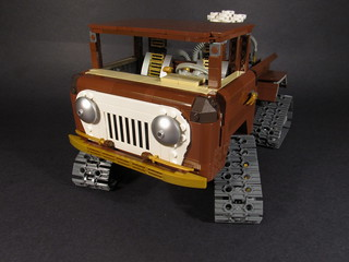 Steampunk Jeep Forward Control