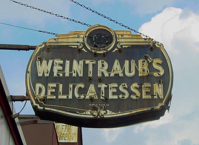 Weintraub's Delicatessen - 126 Water Street, Worcerster, Massachusetts U.S.A. - September 6, 2014