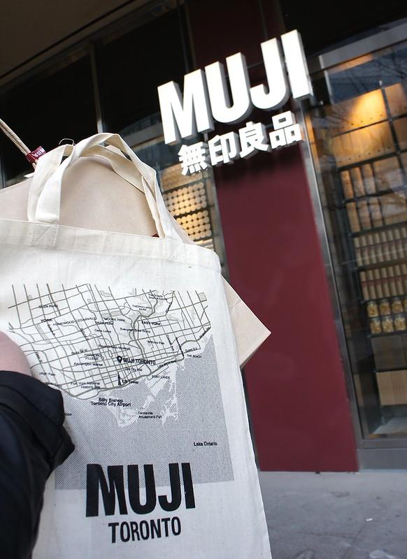 Muji Toronto Opening