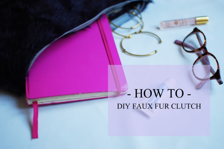 DIY Faux Fur Clutch Bag Tutorial