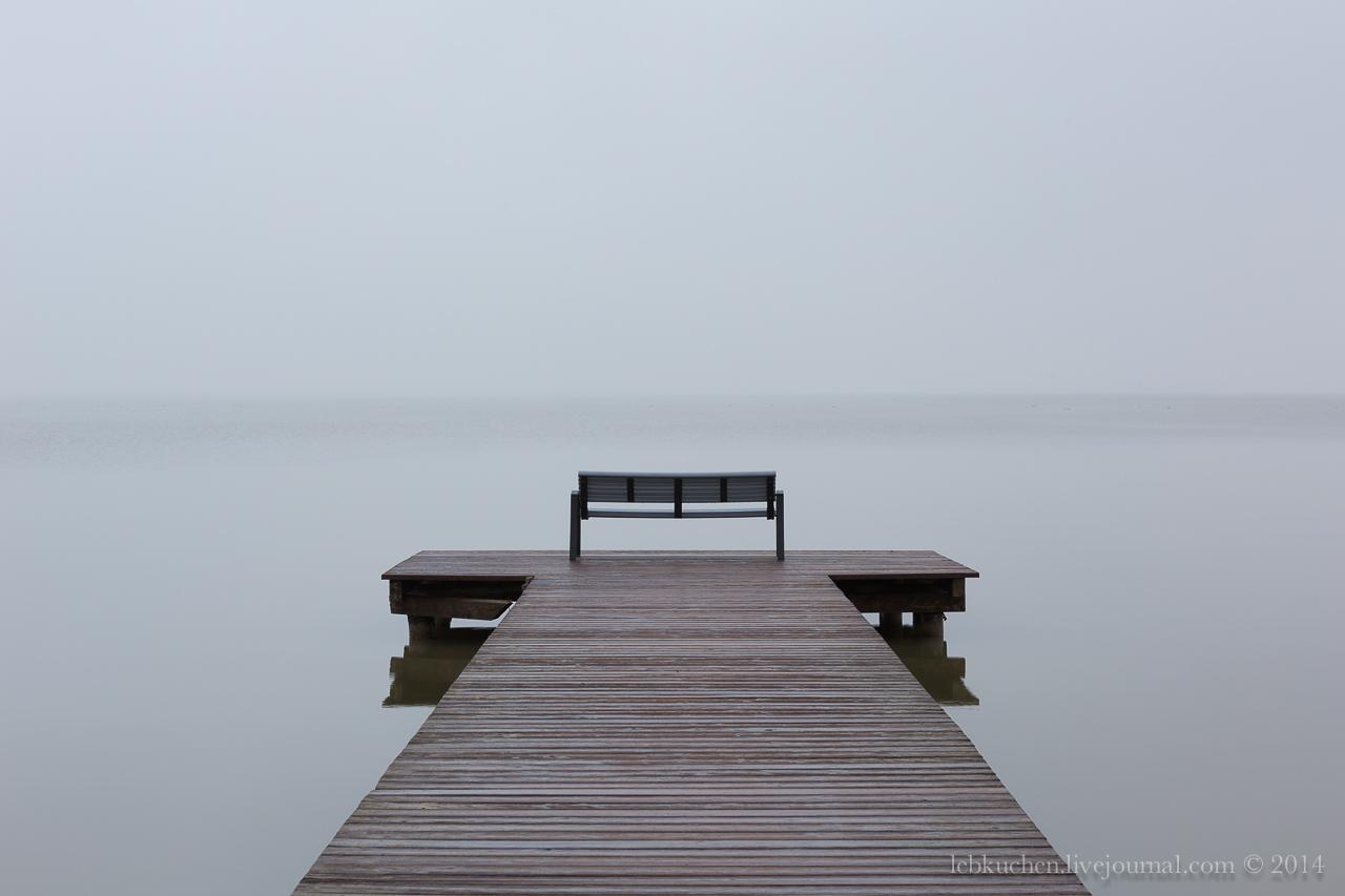 Misty Neusiedlersee