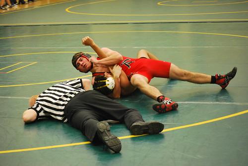 SPORTS - wrestling Cameron Wiseman
