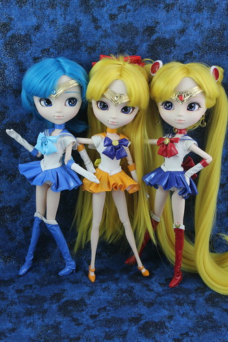 Sailor Mercury, Venus & Moon