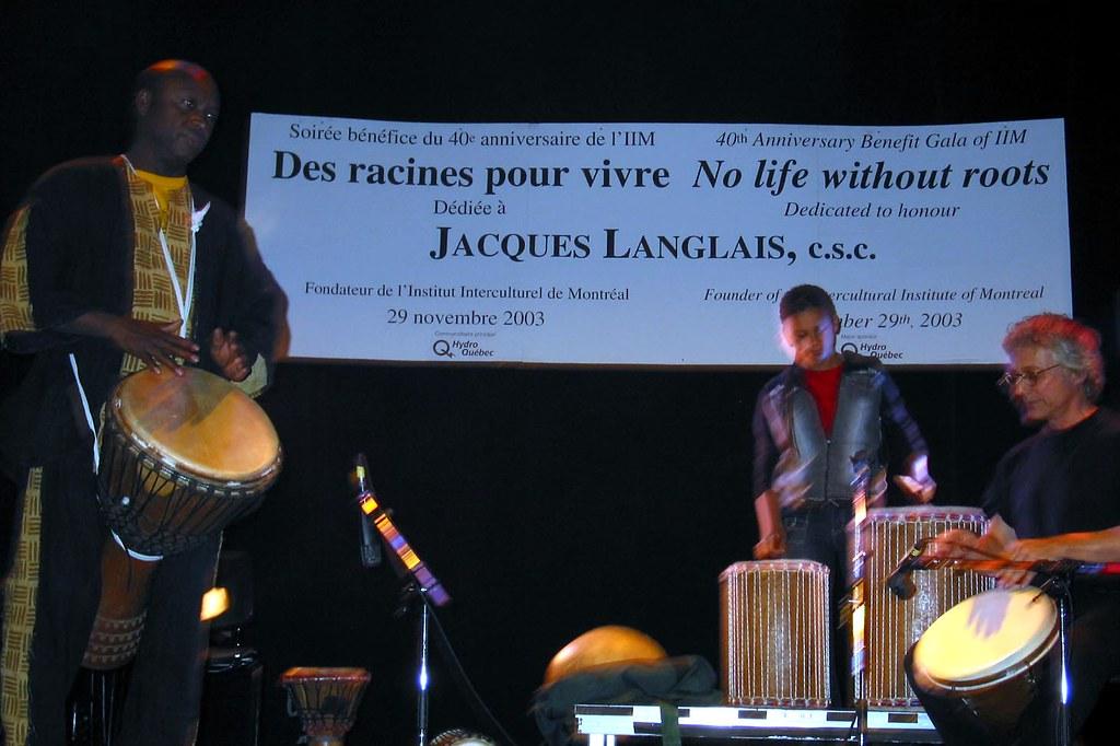 40e Anniversaire De Liim 2003 Groupe Musical De Yaya Dia Flickr