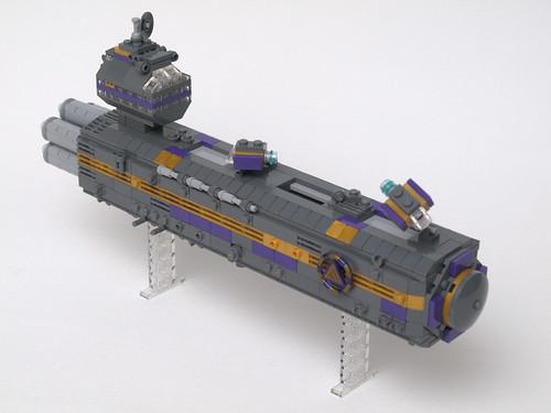 Beyond Sol, Delta Corporation transport vessel