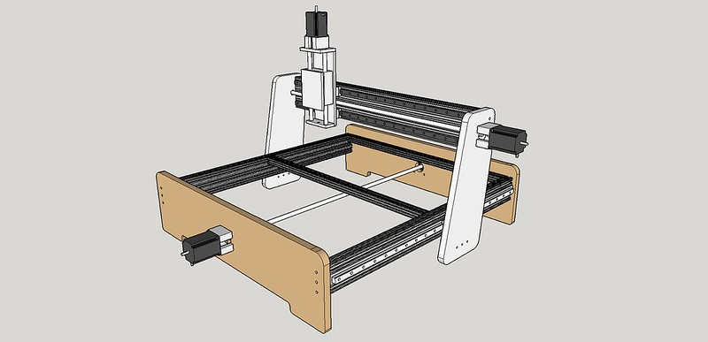 New machine build 8020 mdf based cnc router the z axis i picked up from ebay user microcarve quality is excellent and i think i will get plenty of good use from it i tried the diy route on my greentooth Choice Image