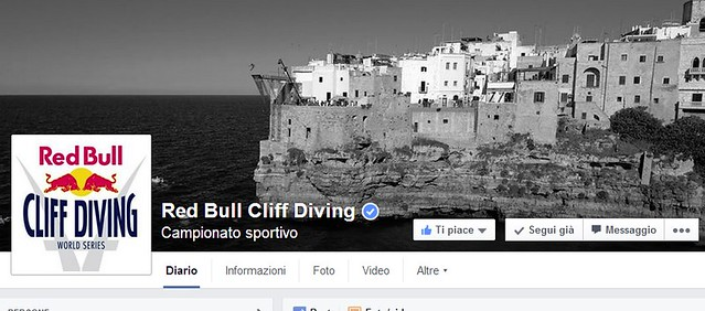 red bull cliff diving polignano a mare 2015