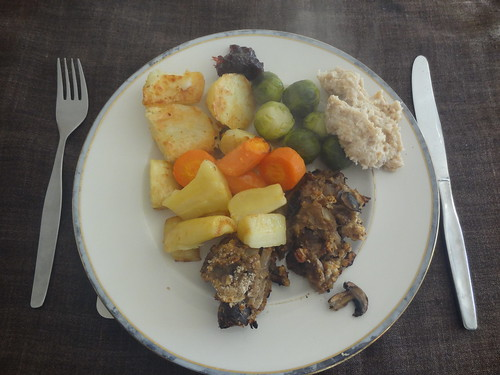 Christmas Day: My plate, full