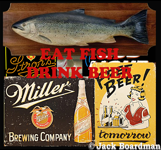 Eat Fish Drink Beer