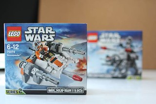 【玩具人'Leslie_HK'投稿】2015年Lego Star Wars 系列Snowspeeder和AT-AT開箱