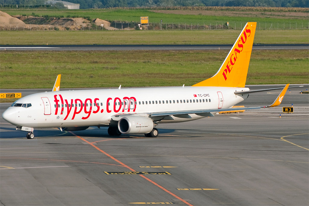 TC-CPC - B738 - Pegasus Airlines