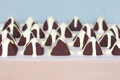montagne al cacao e crema di nocciole