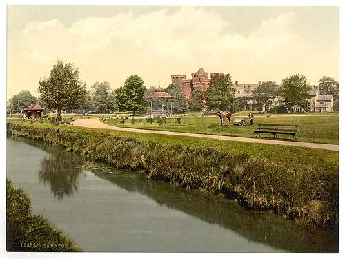 [The park, Taunton, England] (LOC)