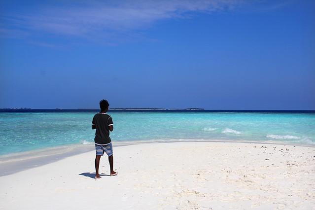 Sand Bank - Maldives