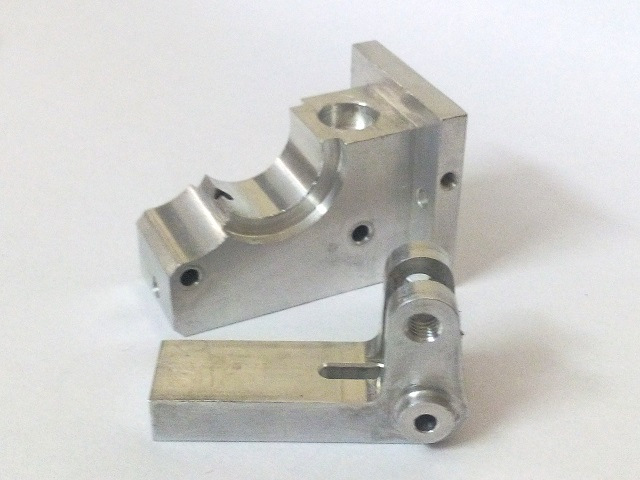 Parts of aSensar Extruder for Prusa i3