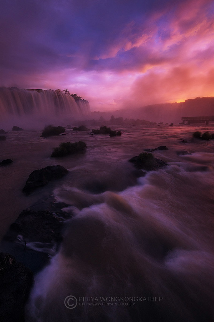 iguazu falls sunset - photo #27