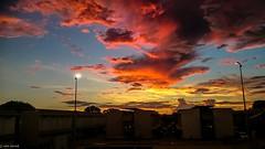 Fire in the Sky   Nauru   South Pacific