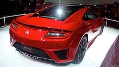 toyota ft-hs(0.0), automobile(1.0), automotive exterior(1.0), wheel(1.0), vehicle(1.0), performance car(1.0), automotive design(1.0), auto show(1.0), honda(1.0), honda nsx(1.0), bumper(1.0), concept car(1.0), land vehicle(1.0), supercar(1.0), sports car(1.0),