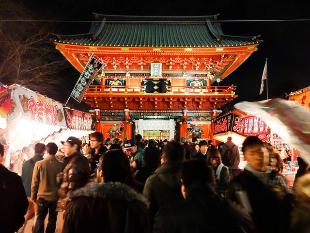 Kanda Shrine: Hatsumode