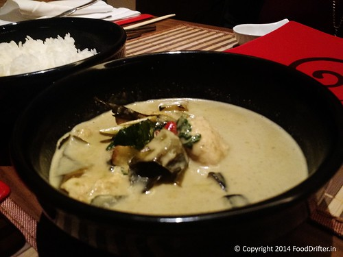 Jasmine Rice With Thai Green Curry