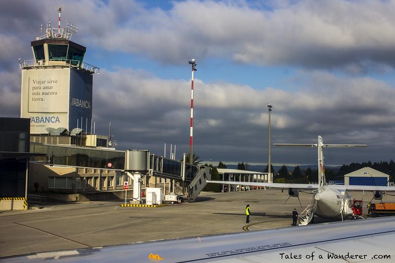 Vueling VY1299 SVQ - LCG / A CORUÑA - Aeroporto da Coruña