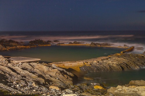 seascape night canon southafrica darkness le mystical pe easterncape portelizabeth beachview