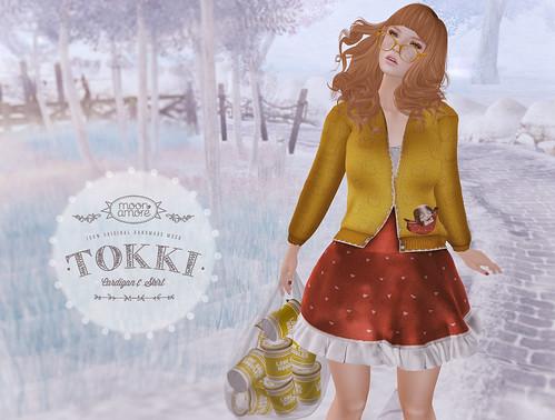 :Moon Amore: Tokki Cardi & Skirt