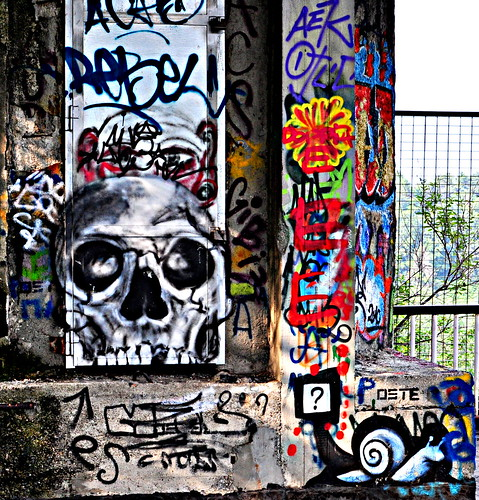 Street Art in Consonno